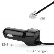 Stromkabel für Navty P1 mit USB Charger