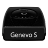 Genevo One S Black Edition - mobiler Warner - Frontansicht