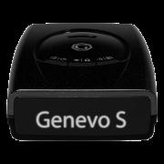 Genevo One S Black Edition - mobiler Radarwarner - Frontansicht